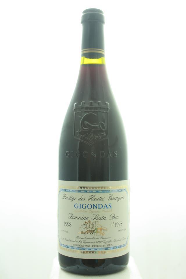 Santa Duc Gigondas Prestige des Haut Garriques 1998
