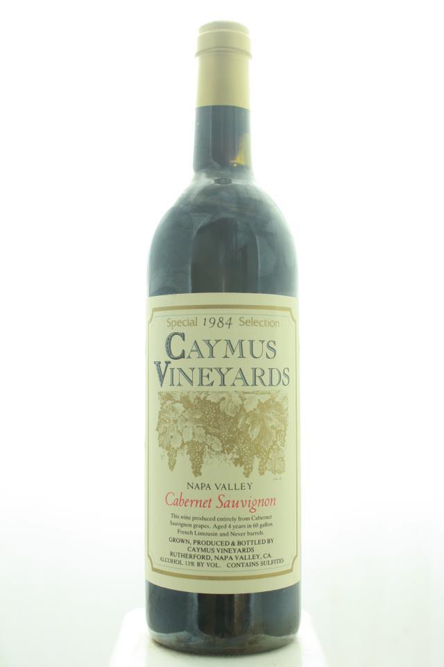 Caymus Cabernet Sauvignon Special Selection 1984