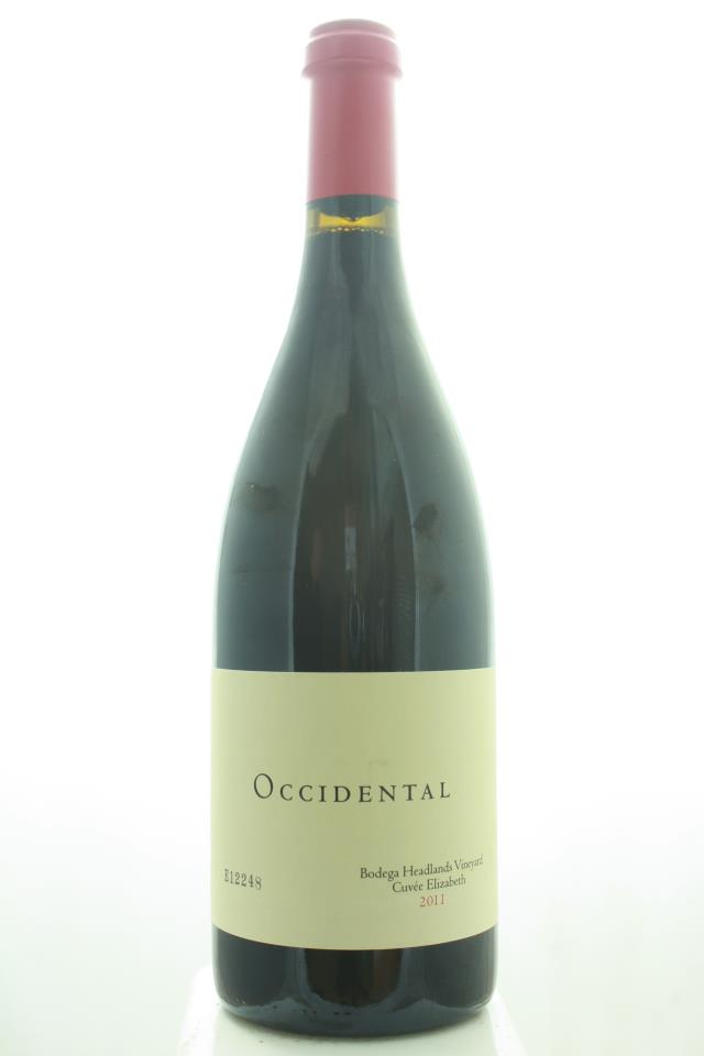 Kistler Pinot Noir Occidental Bodega Headlands Vineyard Cuvée Elizabeth 2011