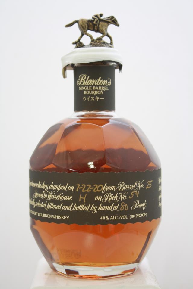 Blanton's Original Single Barrel Bourbon Whisky (Japanese Edition) NV