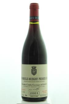 Comte Georges de Vogüé Chambolle-Musigny 1er Cru 2001