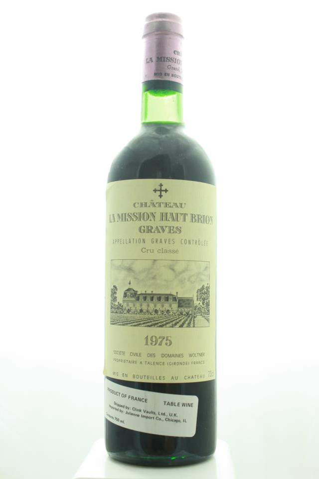 La Mission Haut-Brion 1975