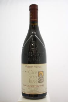 Clos Saint Jean Châteauneuf-du-Pape Vieilles Vignes 2007