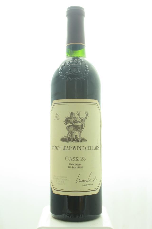 Stag's Leap Wine Cellars Cabernet Sauvignon Cask 23 1985