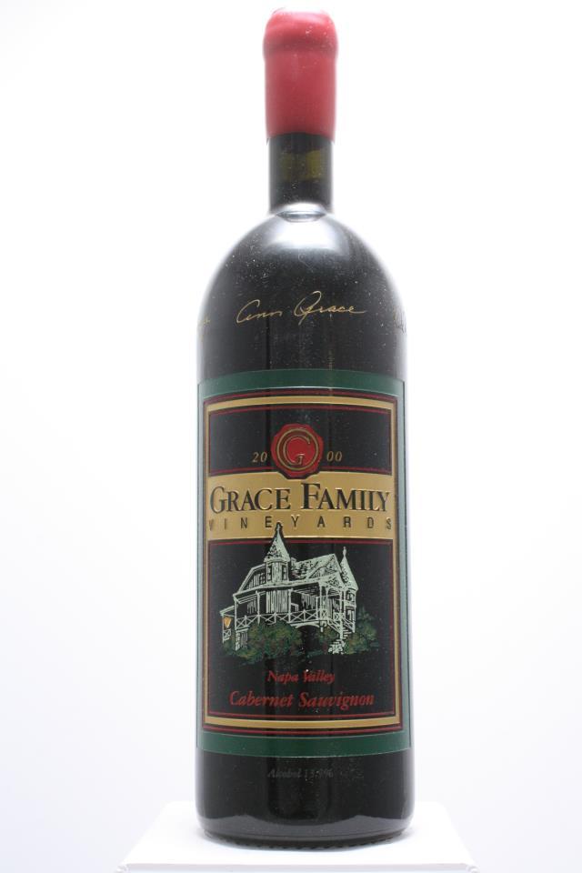 Grace Family Vineyards Cabernet Sauvignon Estate 2000
