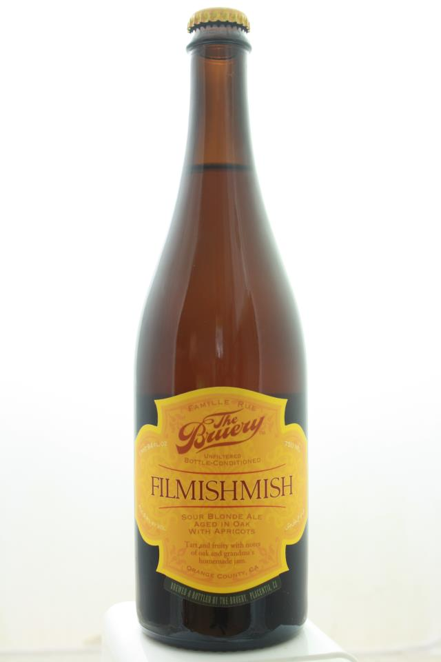 The Bruery Filmishmish Sour Blonde Ale Aged in Oak Barrels With Apricots NV