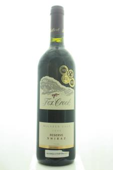 Fox Creek Shiraz Reserve 1996