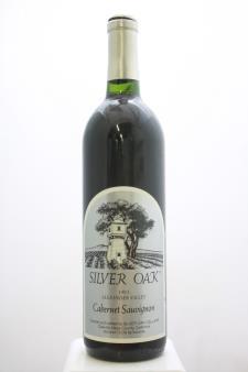 Silver Oak Cabernet Sauvignon Alexander Valley 1993