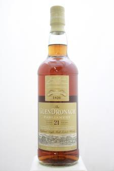 Glendronach Parliament Highland Single Malt Scotch Whisky 21-Years-Old NV