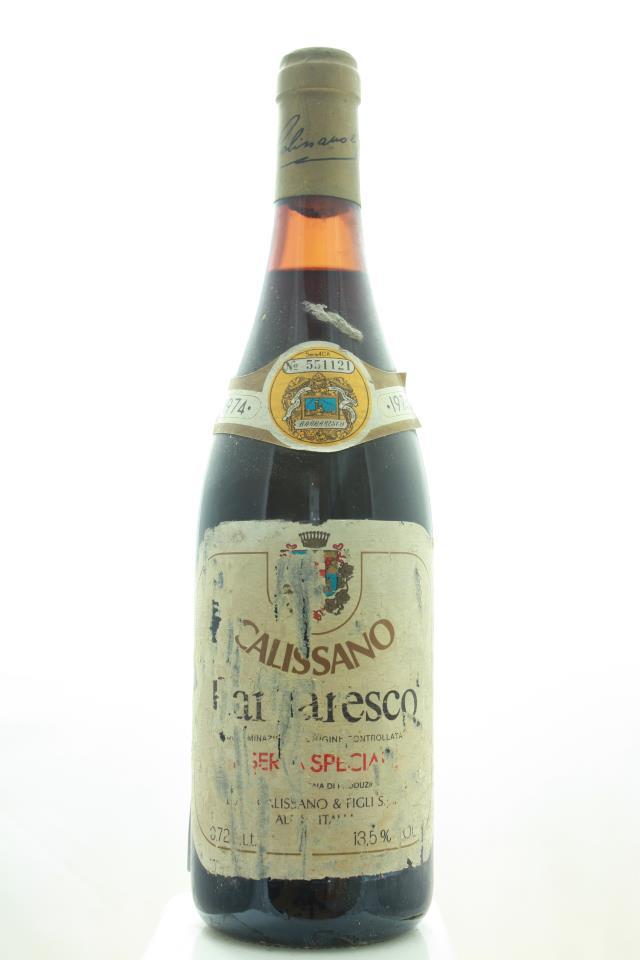 Calissano Barbaresco Riserva Speciale 1974