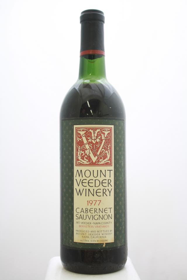 Mount Veeder Cabernet Sauvignon Bernstein Vineyard 1977