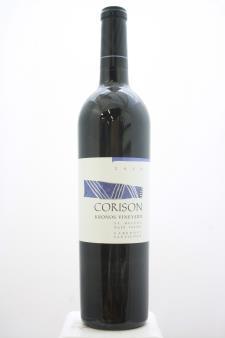 Corison Cabernet Sauvignon Kronos Vineyard 2014