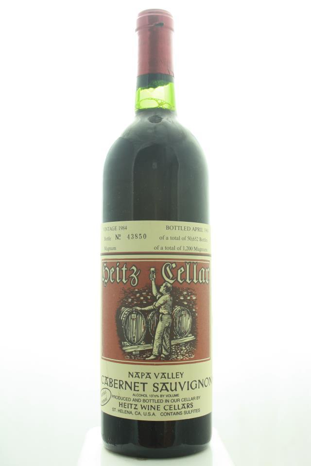 Heitz Cellar Cabernet Sauvignon Martha's Vineyard 1984