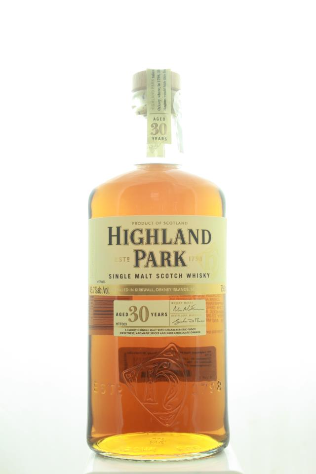 Highland Park Single Malt Scotch Whisky 30-Years-Old NV