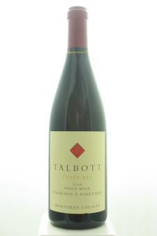 Talbott Vineyards Pinot Noir Diamond T Vineyard Cuvée RFT 2008