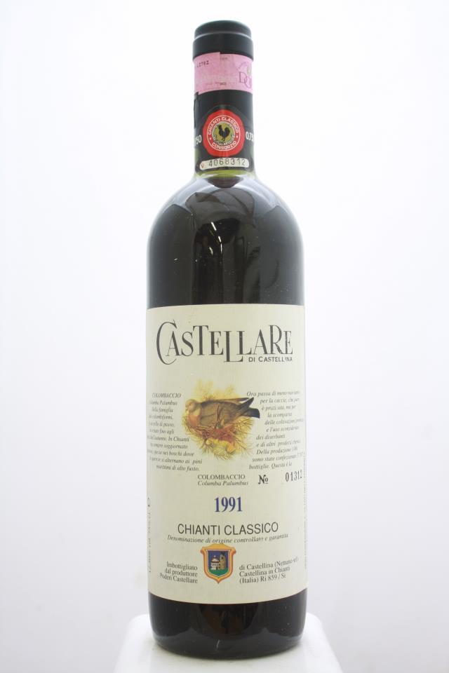 Castellare di Castellina Chianti Classico 1991