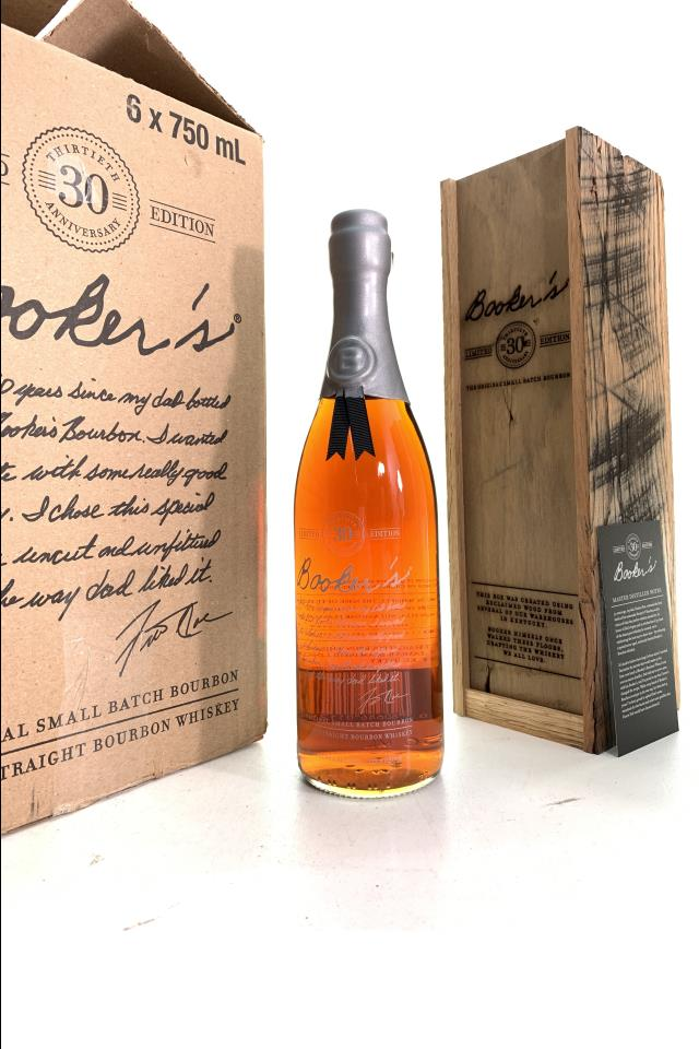 Booker's Kentucky Straight Bourbon Whiskey Thirtieth Anniversary Limited Edition NV