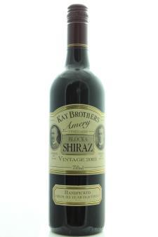 Kay Brothers Shiraz Block 6 Amery Vineyard 2003