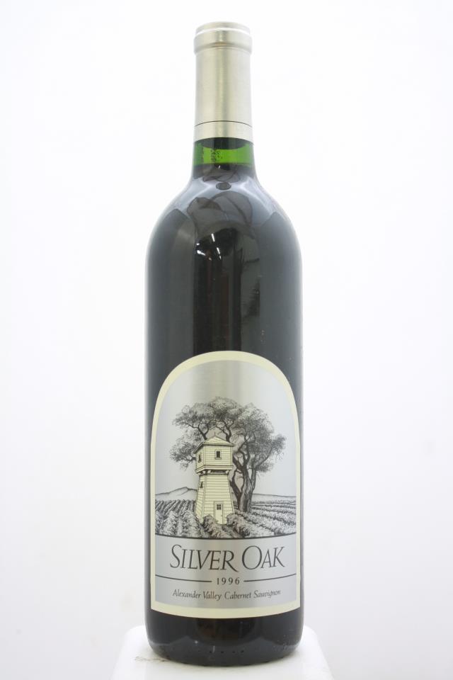 Silver Oak Cabernet Sauvignon Alexander Valley 1996