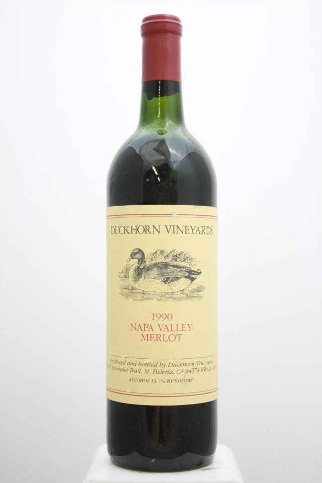 Duckhorn Merlot Napa Valley 1990