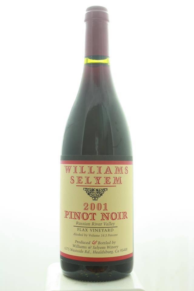 Williams Selyem Pinot Noir Flax Vineyard 2001