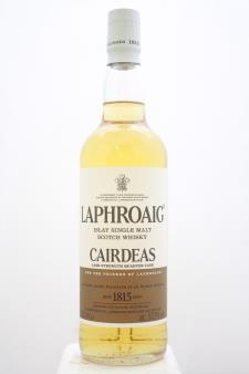 Laphroaig Islay Single Malt Scotch Whisky Cairdeas Cask Strength Quarter Cask NV