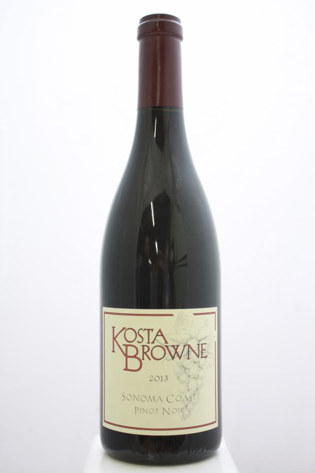 Kosta Browne Pinot Noir Sonoma Coast 2013