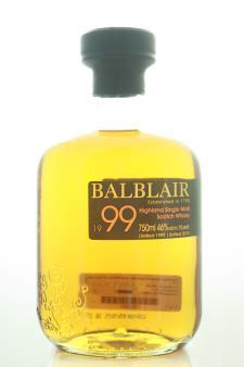 Balblair Highland Single Malt Scotch Whisky 16-Years-Old 1999