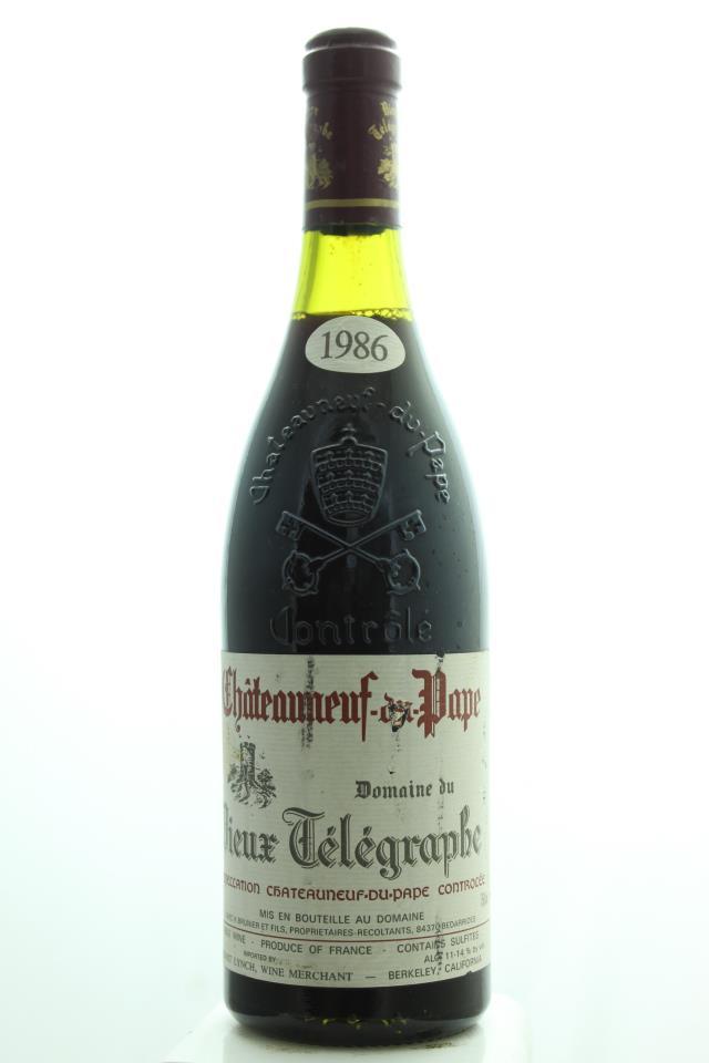 Domaine du Vieux Télégraphe Châteauneuf-du-Pape 1986