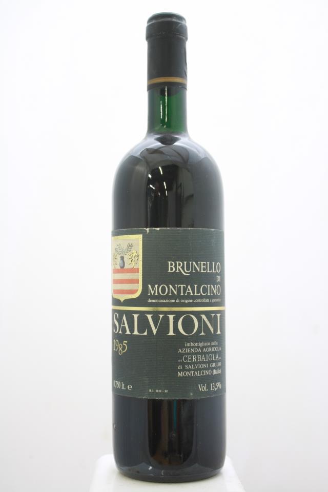 Salvioni Brunello di Montalcino Cerbaiola 1985