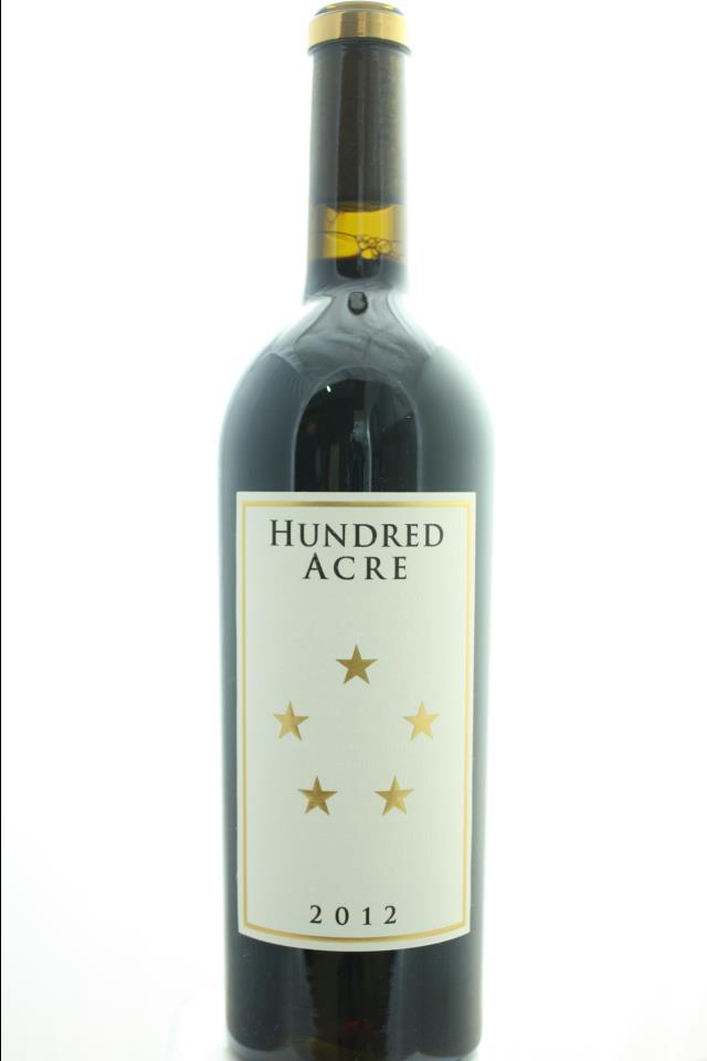 Hundred Acre Cabernet Sauvignon Estate Ark Vineyard 2012