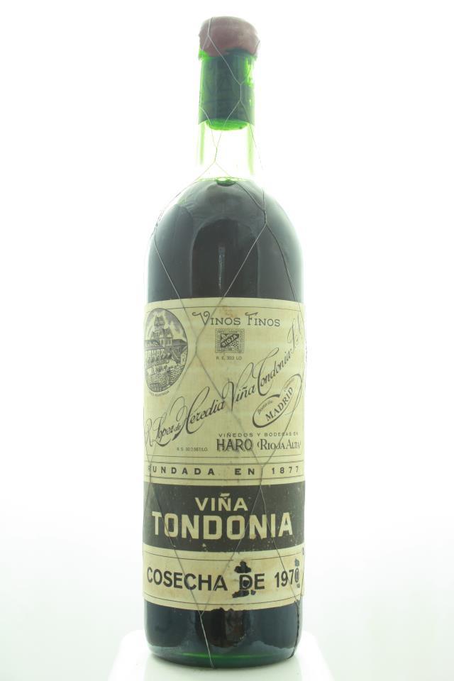R. López de Heredia Rioja Gran Reserva Viña Tondonia Tinto 1970