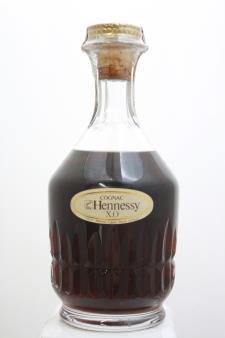 Hennessy Cognac X.O. Carafe Baccarat Gift Box NV