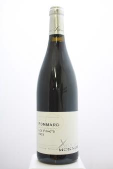 Xavier Monnot Pommard Les Vignots 2005