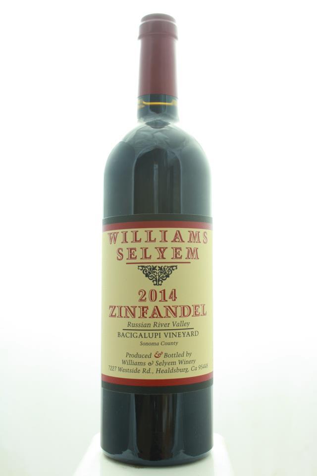 Williams Selyem Zinfandel Bacigalupi Vineyard 2014