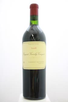 Bryant Family Vineyard Cabernet Sauvignon Estate 2008
