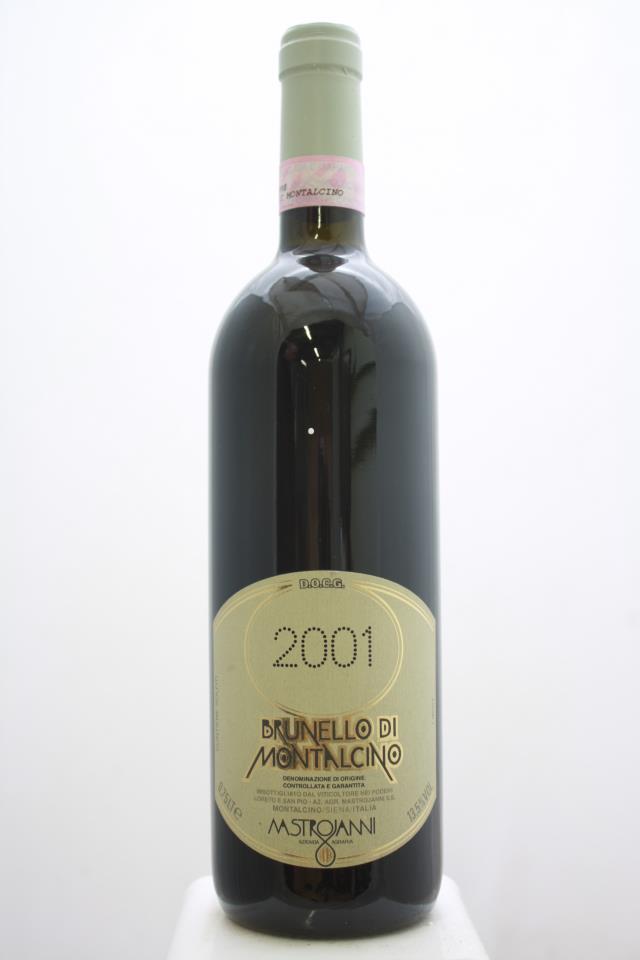 Mastrojanni Brunello di Montalcino 2001