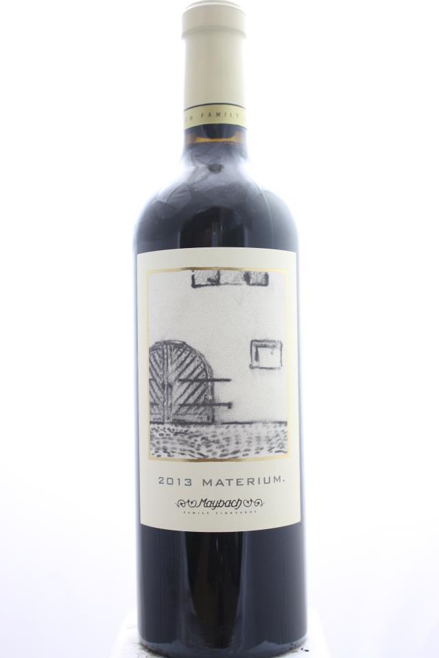 Maybach Cabernet Sauvignon Weitz Vineyard Materium 2013