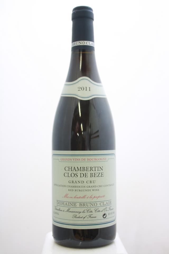 Bruno Clair Chambertin-Clos de Bèze 2011