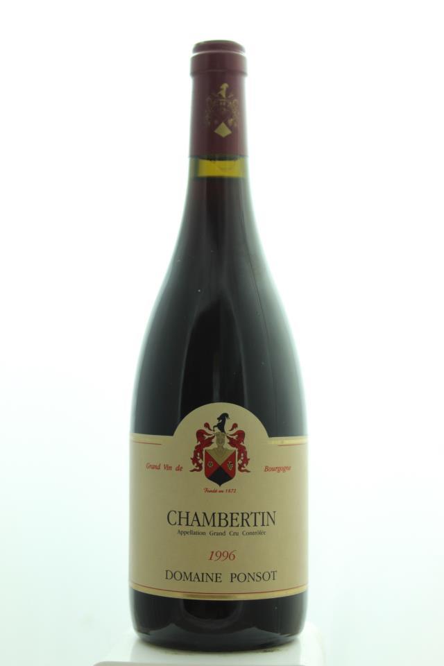 Domaine Ponsot Chambertin 1996