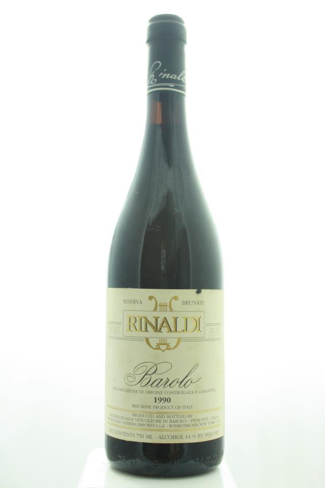 Giuseppe Rinaldi Barolo Brunate Riserva 1990