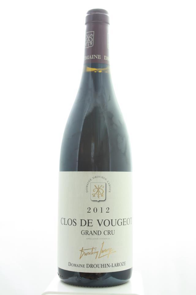 Drouhin-Laroze Clos de Vougeot 2012
