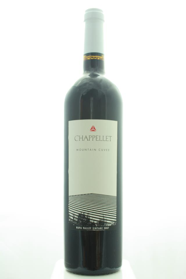 Chappellet Proprietary Red Mountain Cuvee 2007