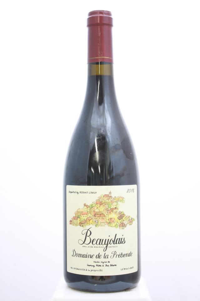 Domaine la Prebende Beaujolais Vieilles Vignes 2018