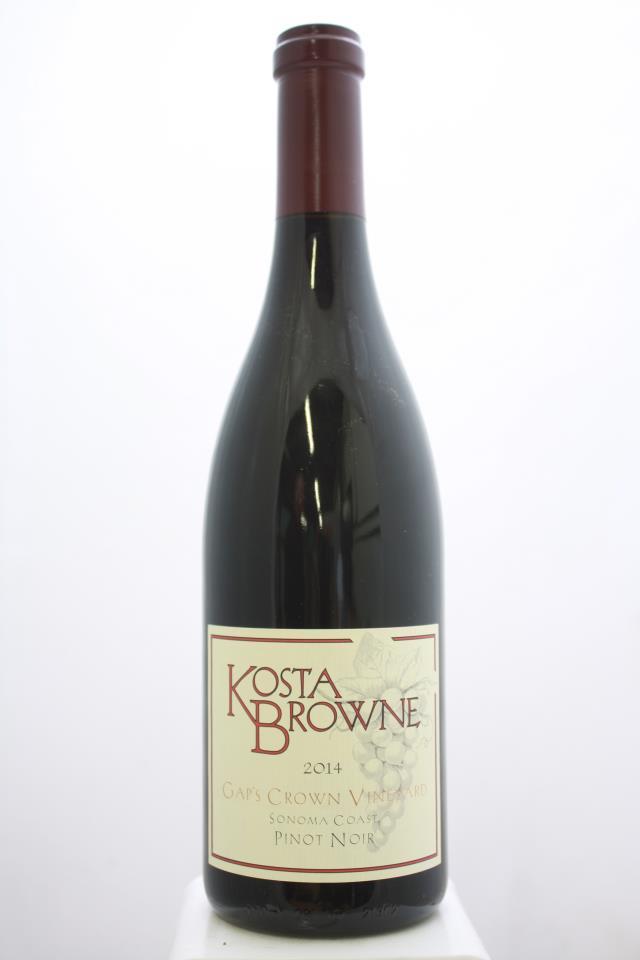 Kosta Browne Pinot Noir Gap's Crown Vineyard 2014