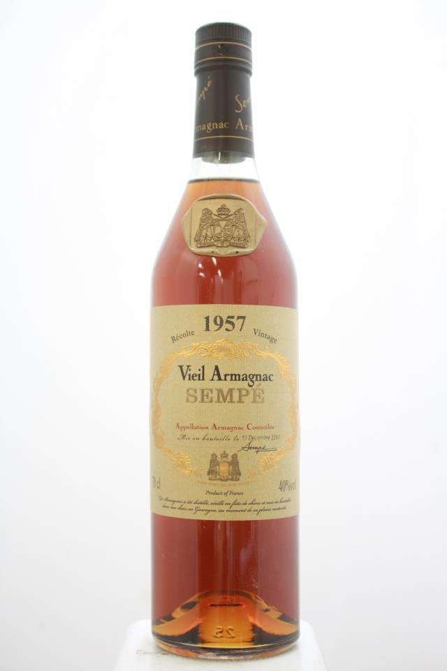 Sempé Vieil Armagnac 1957