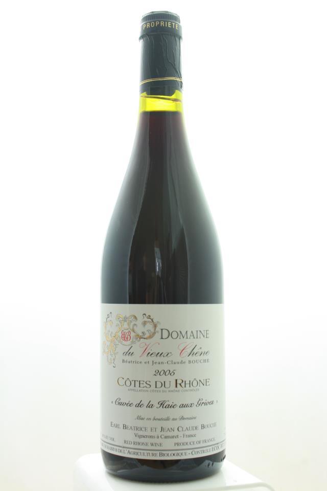 Domaine du Vieux Chêne Côtes-du-Rhône Cuvée de la Haie aux Grives Rouge 2005