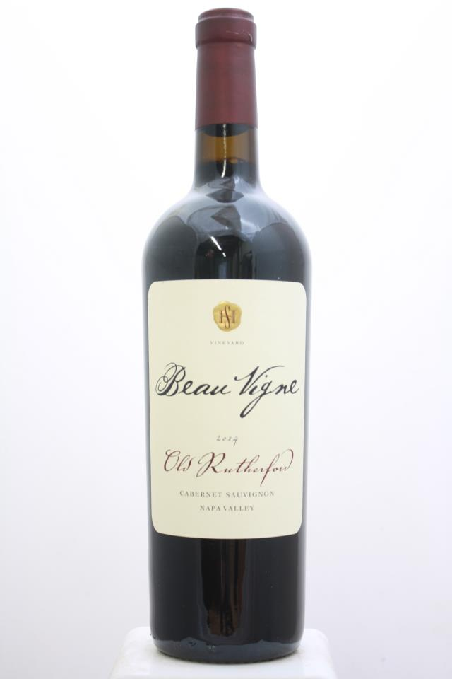 Beau Vigne Cabernet Sauvignon Old Rutherford 2014