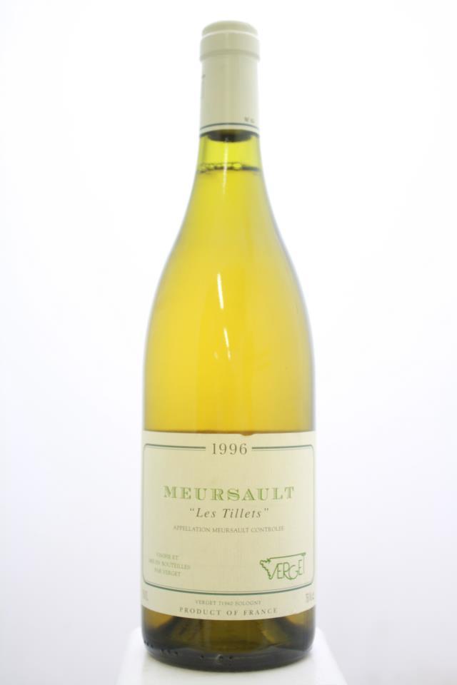 Verget Meursault Les Tillets 1996