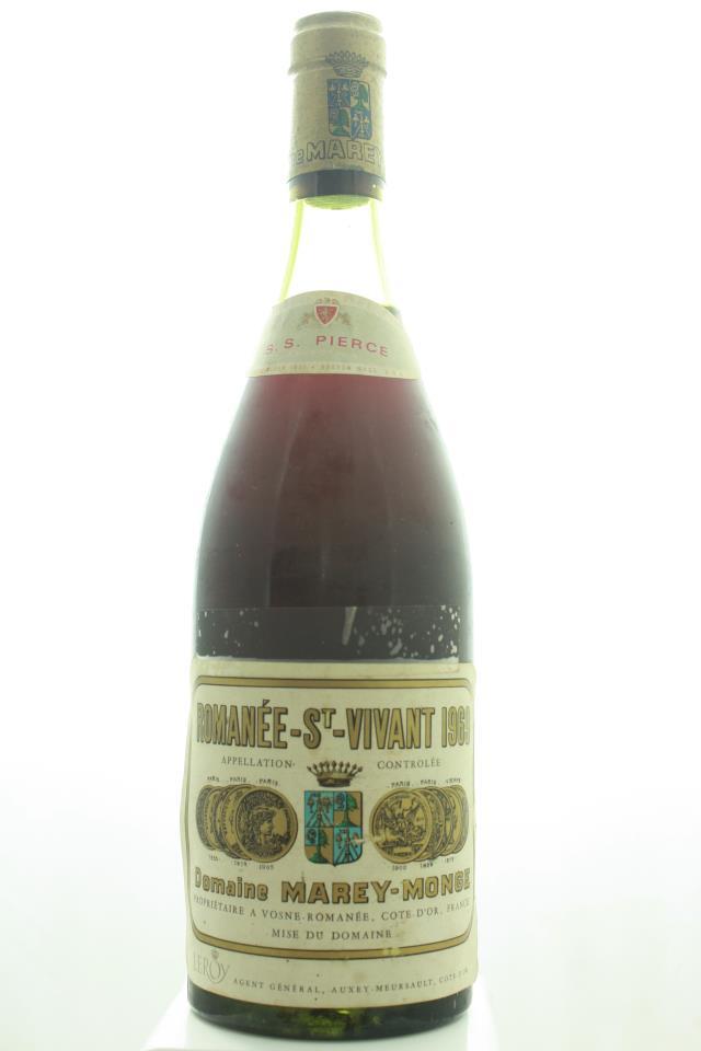 Domaine de la Romanée-Conti Romanée Saint-Vivant Marey-Monge 1969